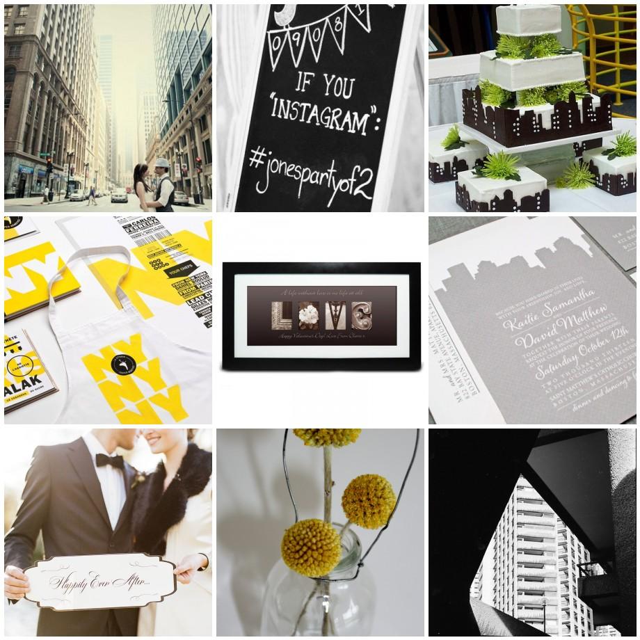 City Vibe Wedding Theme - Big Little Things