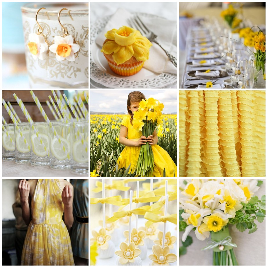 Daffodil Yellow Easter Wedding Trends