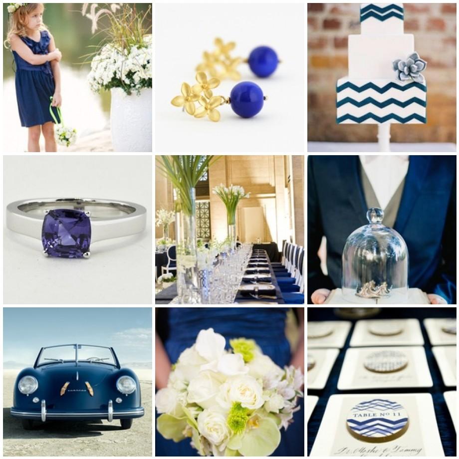 Monaco Blue Wedding Inspiration