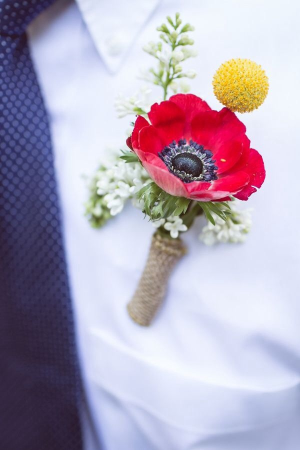 Poppy inspired wedding ideas
