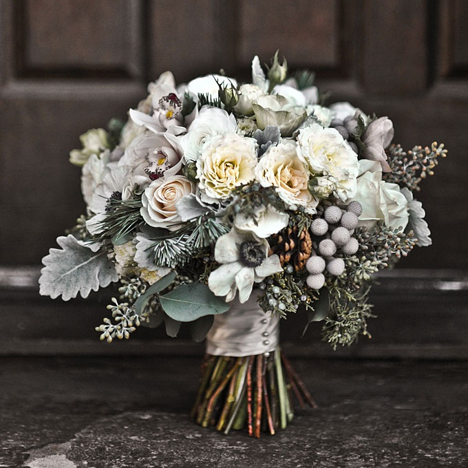 Winter wedding flowers ideas