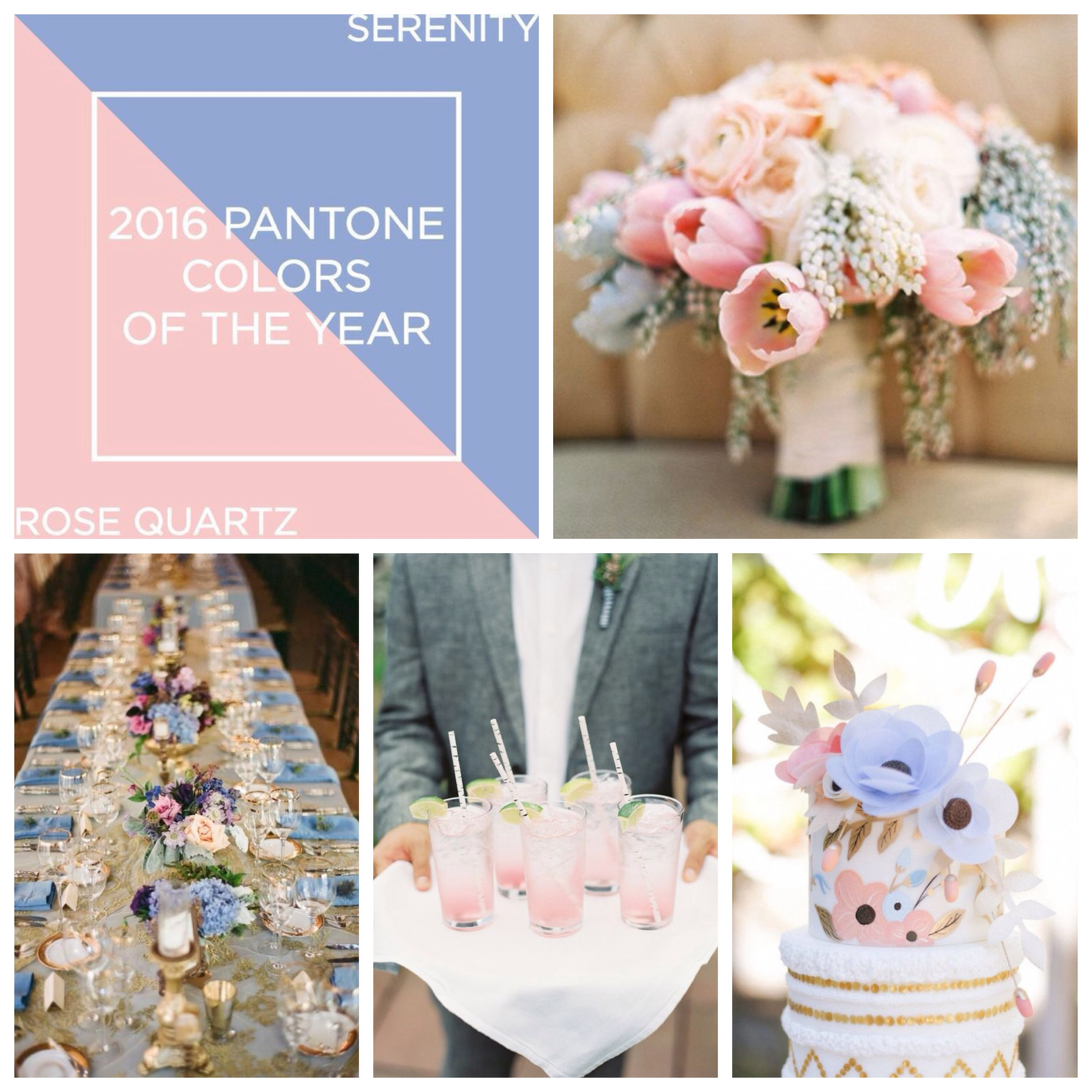 Wedding Ideas Inspired by the Pantone Colour of the Year 2016