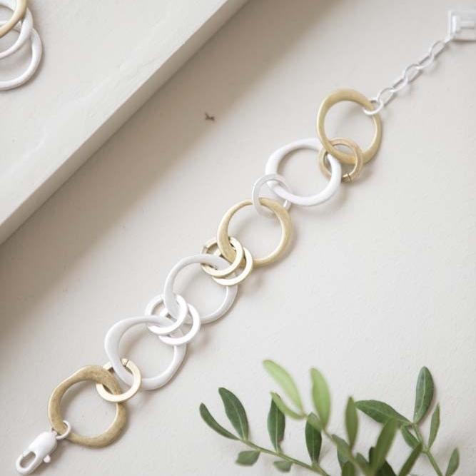 Tutti & Co Disc Bracelet