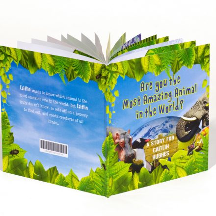 Personalised Kids' book - The Most Amazing Animal