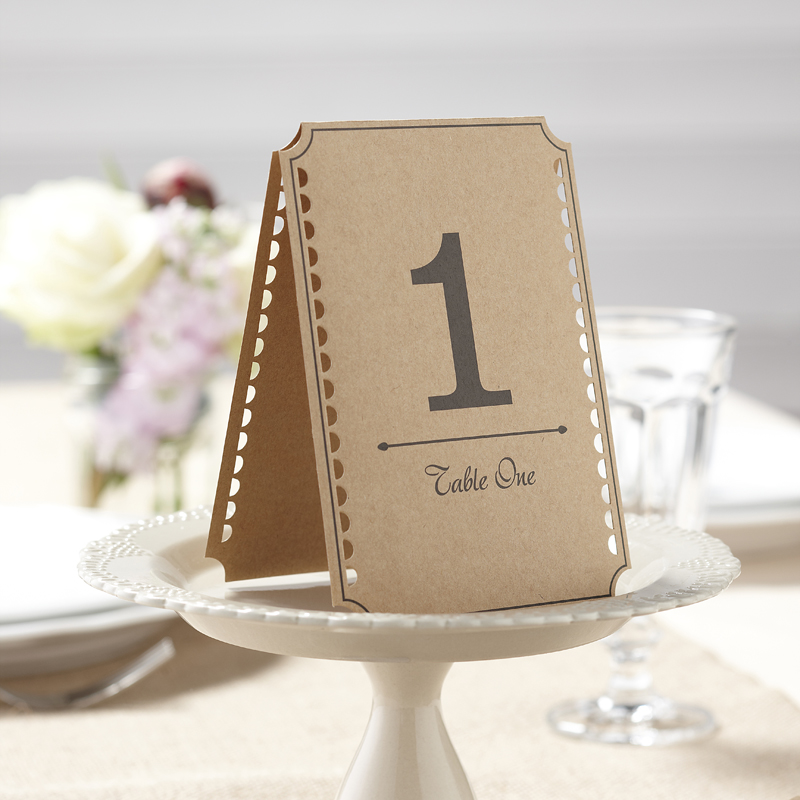 Card Table Numbers