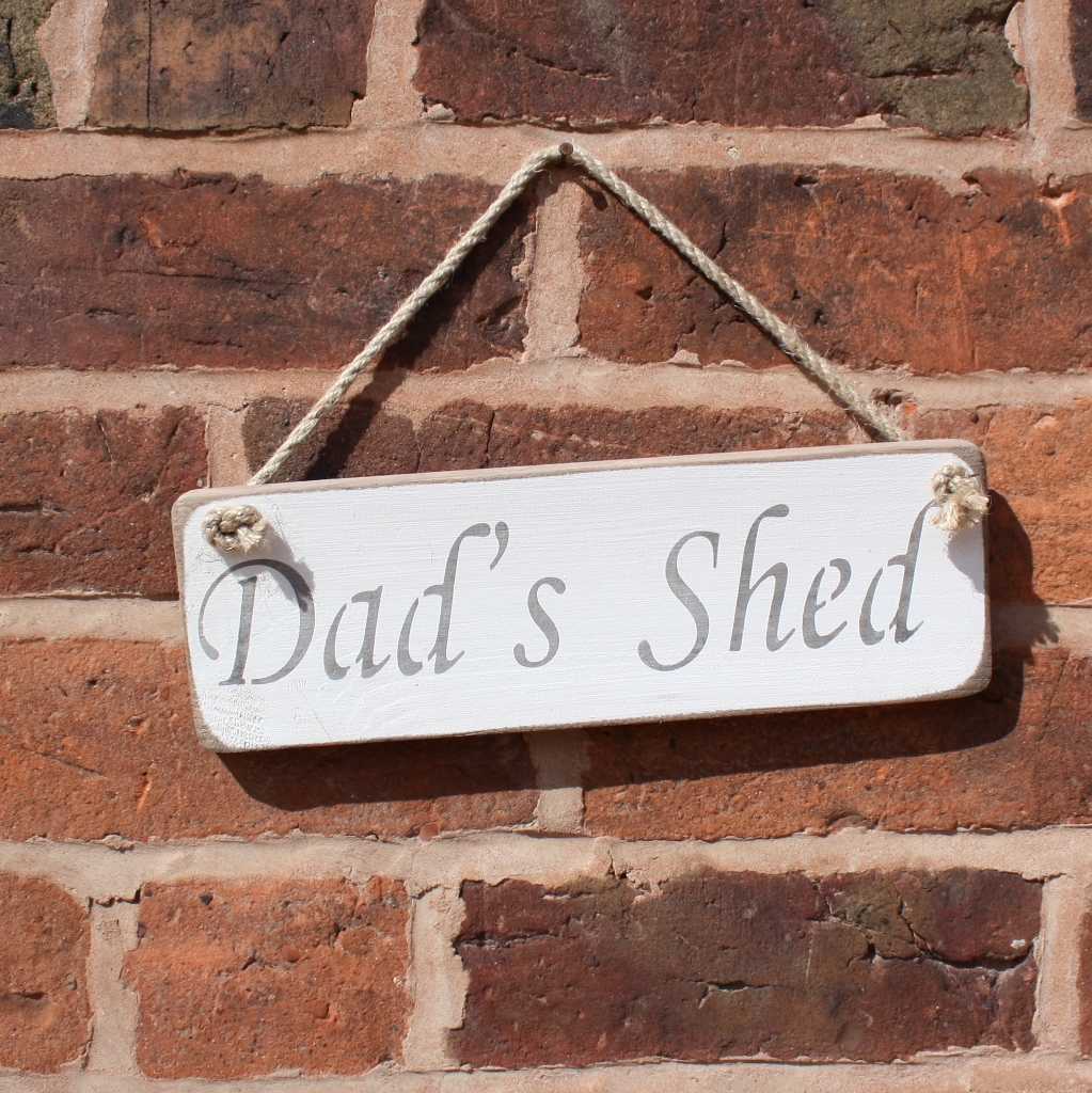Dad's Hanging Sign