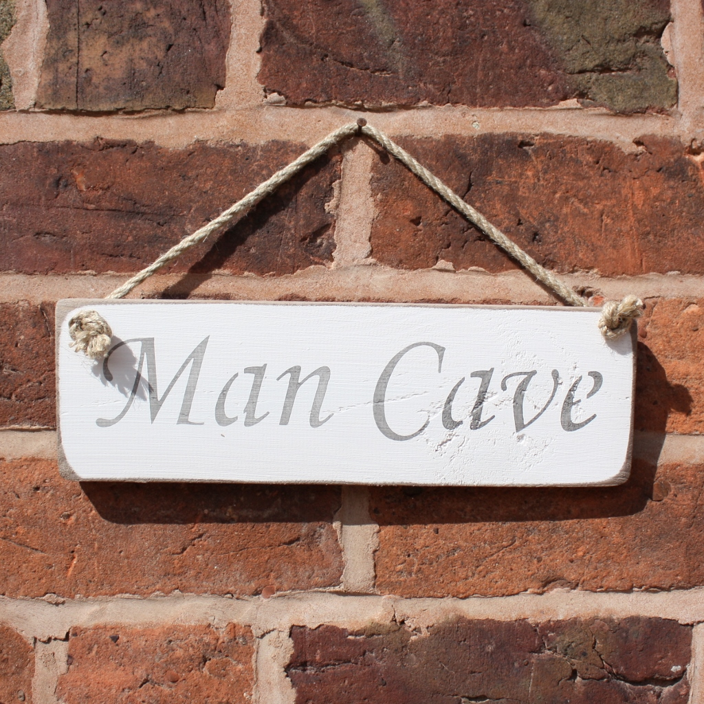 Man Cave Hanging Sign