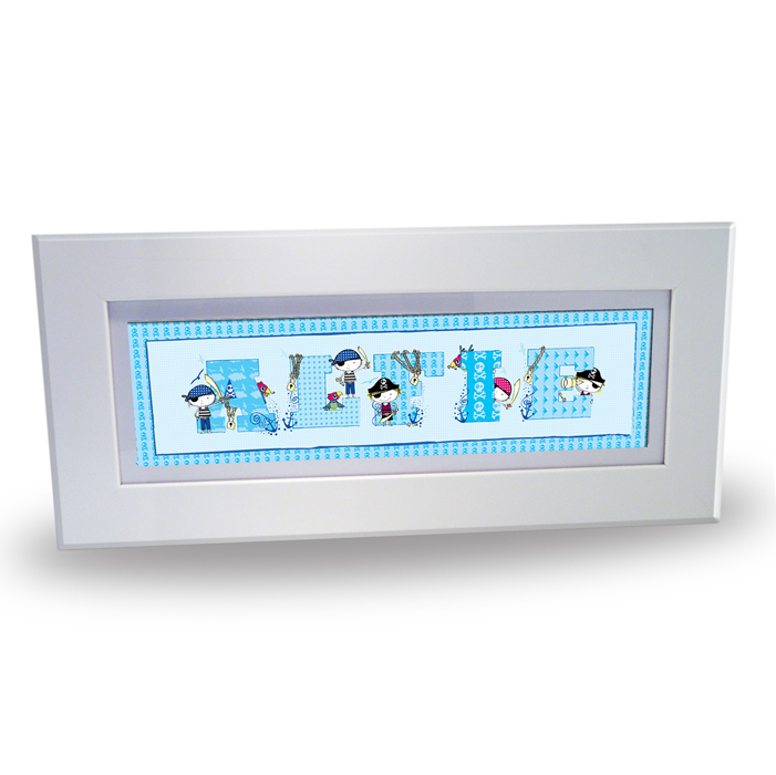 Pirate Letter Personalised Name Frame