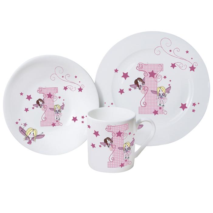 Fairy Letter Girls Breakfast Set
