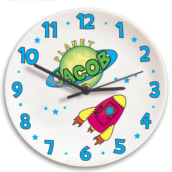 Personalised Space Clock