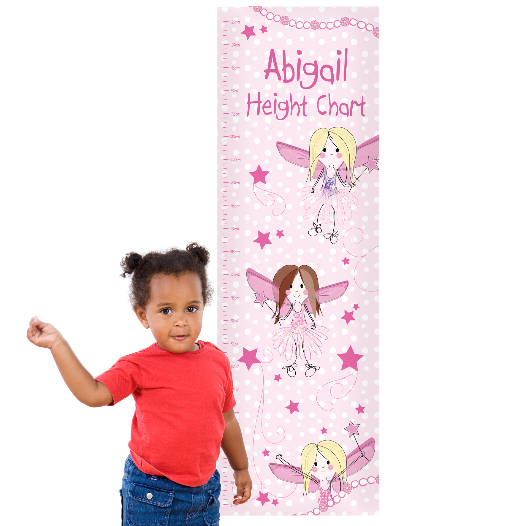 Fairy Personalised Height Chart