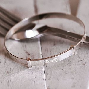 Personalised Christening Bracelet
