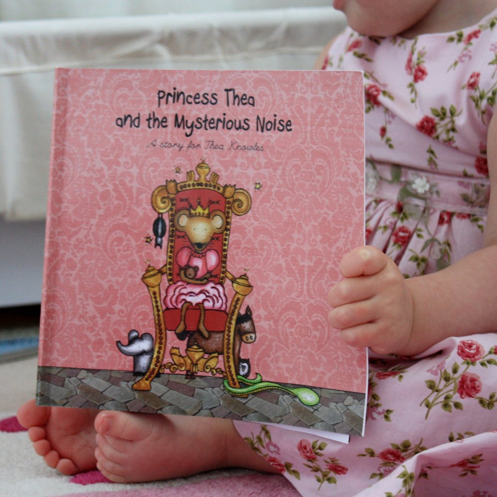 Personalised Kids' book - The Princess and the Mysterious Noise