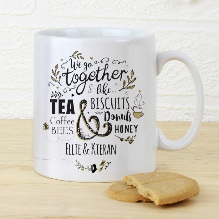 Personalised 'Couples' Mug