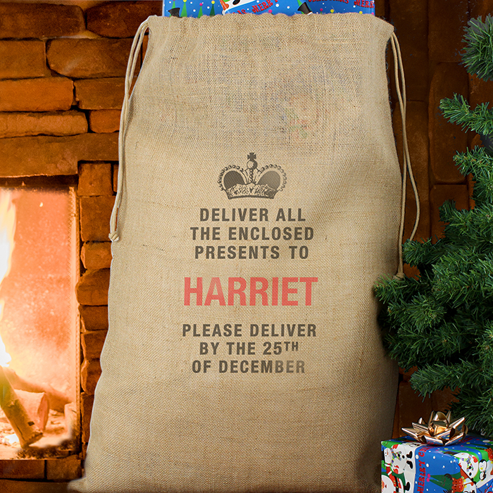 Personalised Presents Delivery Sack
