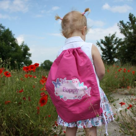 Butterfly Personalised Swimming Bag