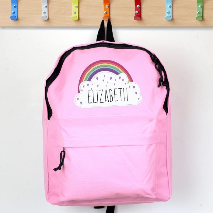 Rainbow Personalised Backpack