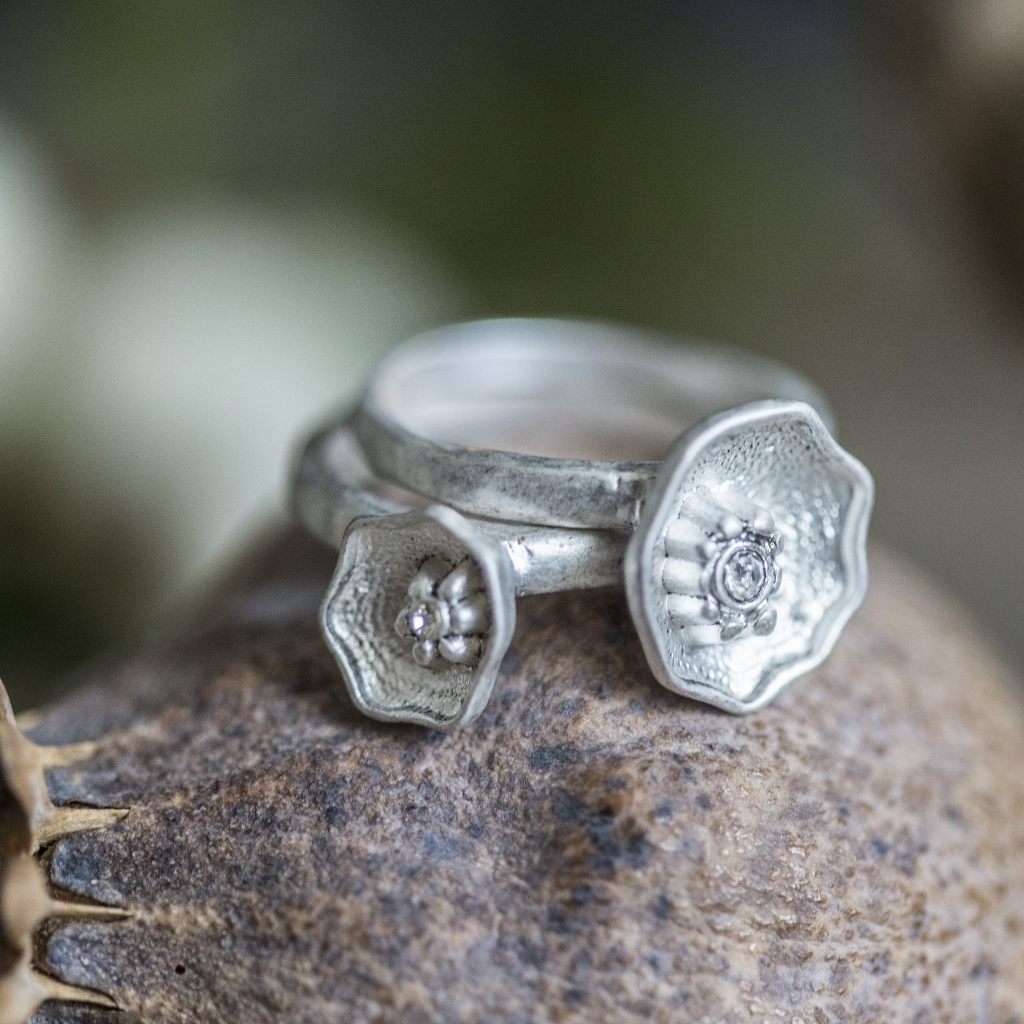 Flower Rings Set