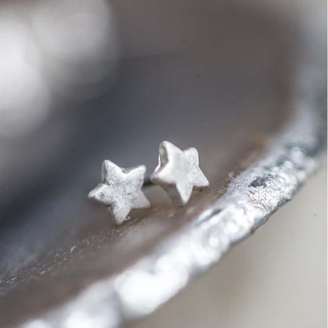 Tutti & Co Silver Star Studs