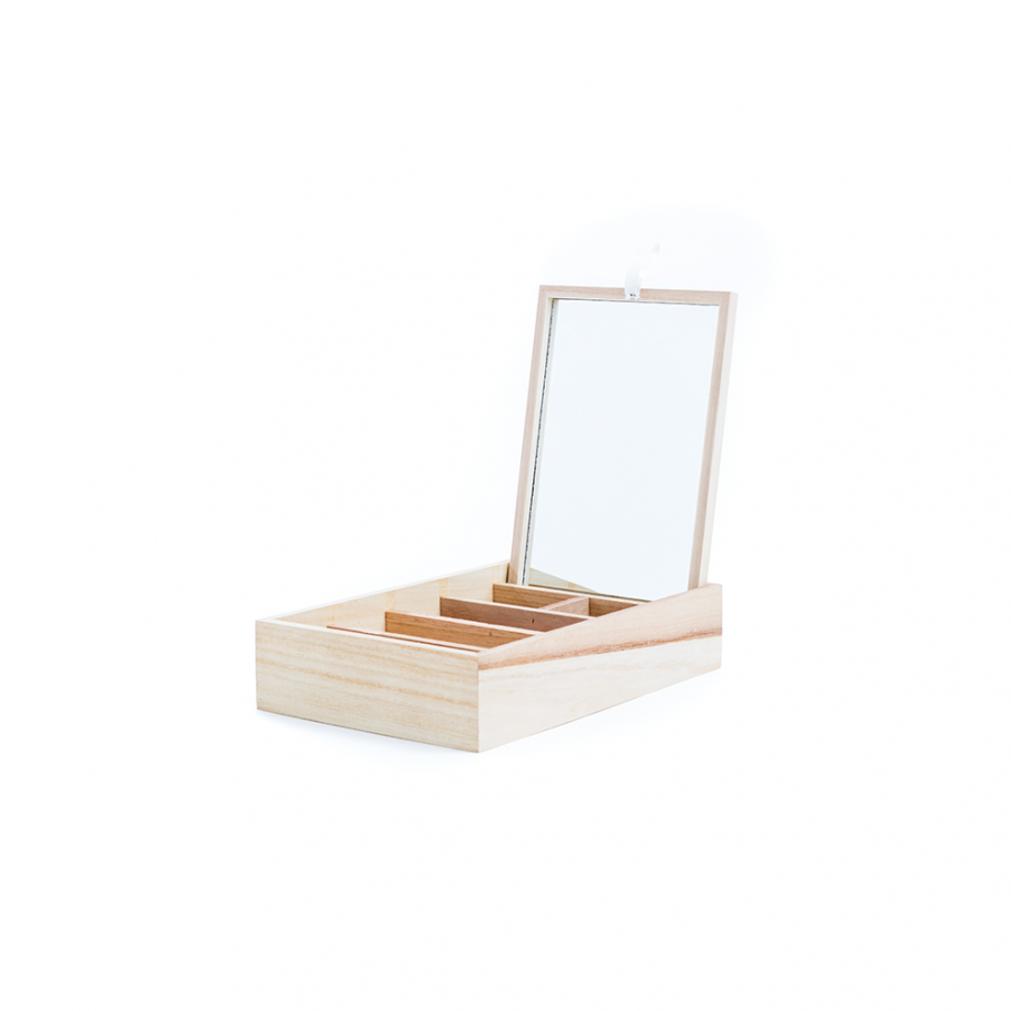 Trinket Tray & Mirror