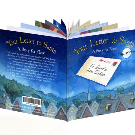 Personalised Kids' book - Your Letter to Santa
