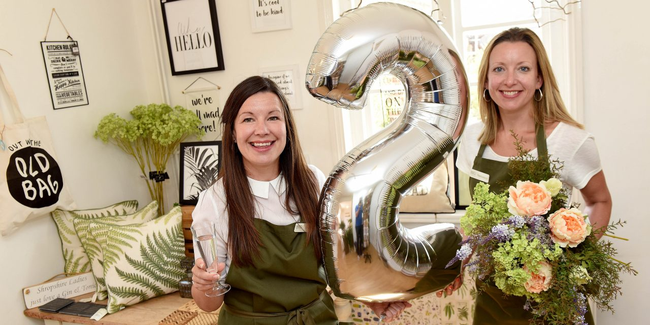 Shop anniversary celebrated by teaming up with the National Trust