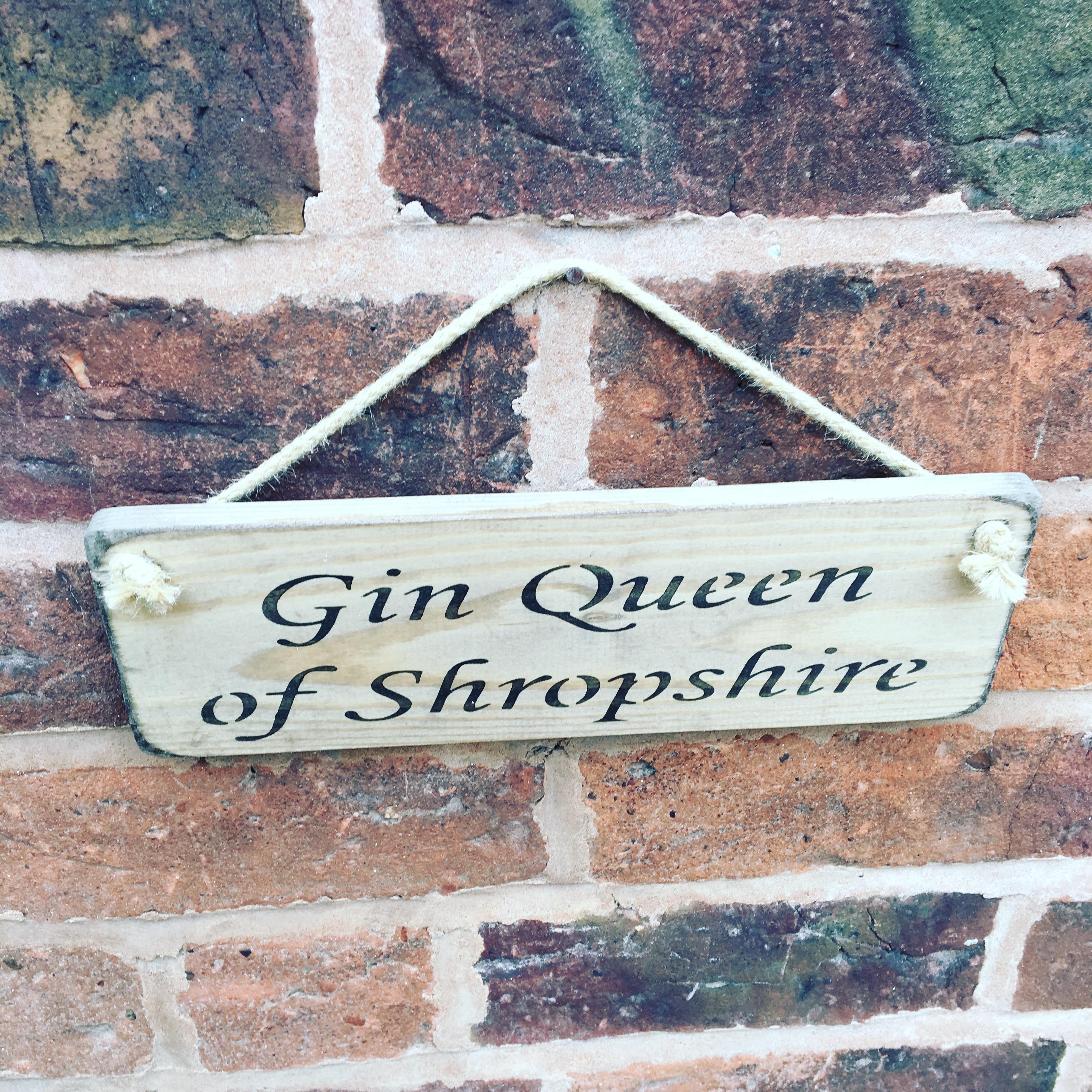 Gin Queen Shropshire