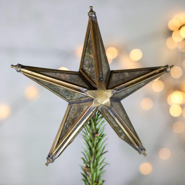 Nkuku Bakara star Christmas tree topper
