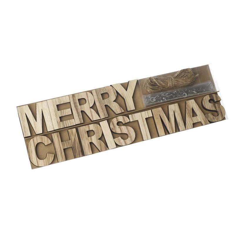 Merry Christmas DIY Garland