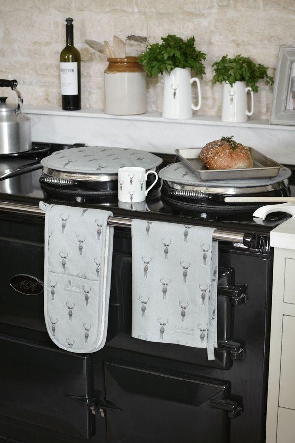 Sophie Allport Highland Stag Tea Towel
