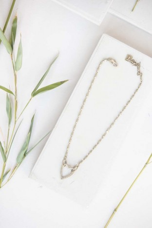 Tutti & Co Heart Necklace Gold