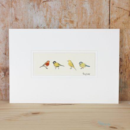 Penny Lindop Garden Birds Print