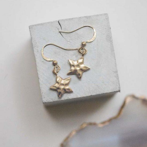 Tutti & Co Star Drop Earrings