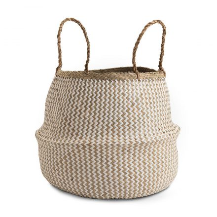 Deedy Seagrass Woven Basket large