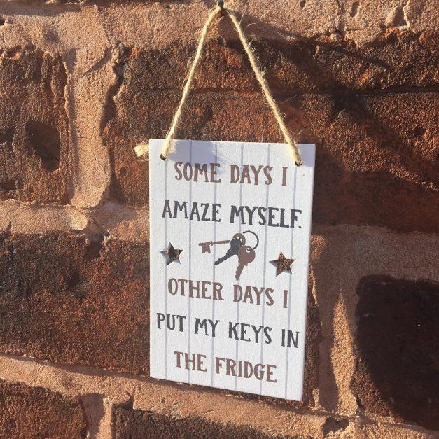 mini sign keys
