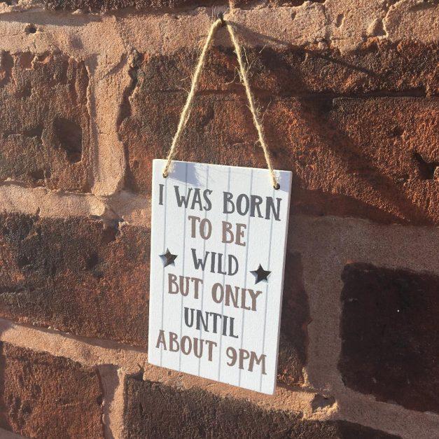 mini sign wild