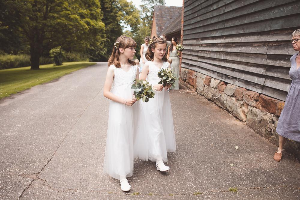 Wedding flowers at Pimhill Barn, Shrewsbury