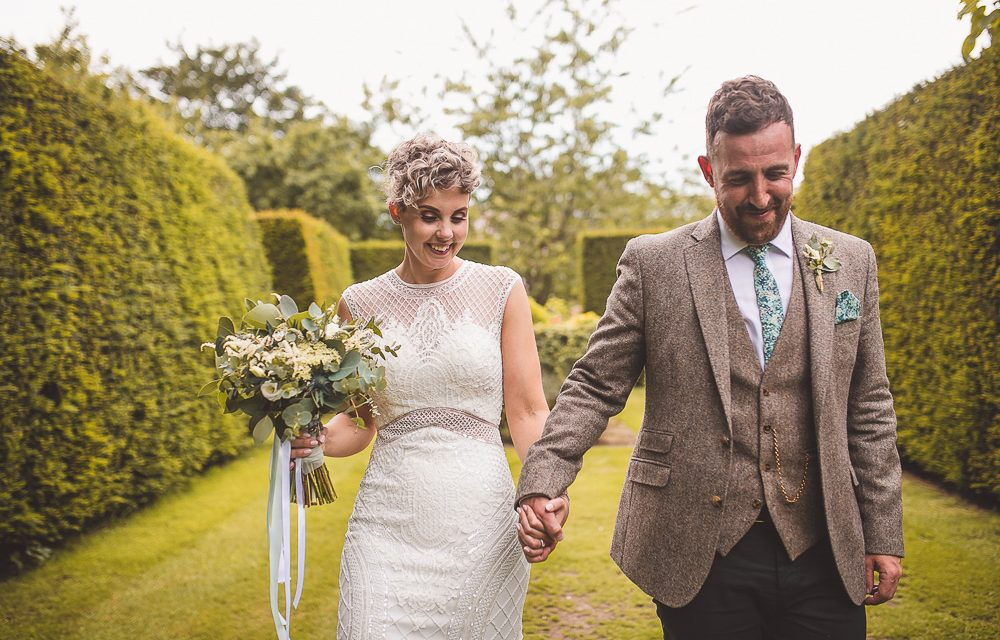 Real Weddings: Jo and James at Pimhill Barn, Shrewsbury