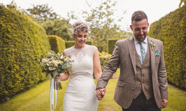 Real Weddings: Jo and James at Pimhill Barn, Shrewsbury